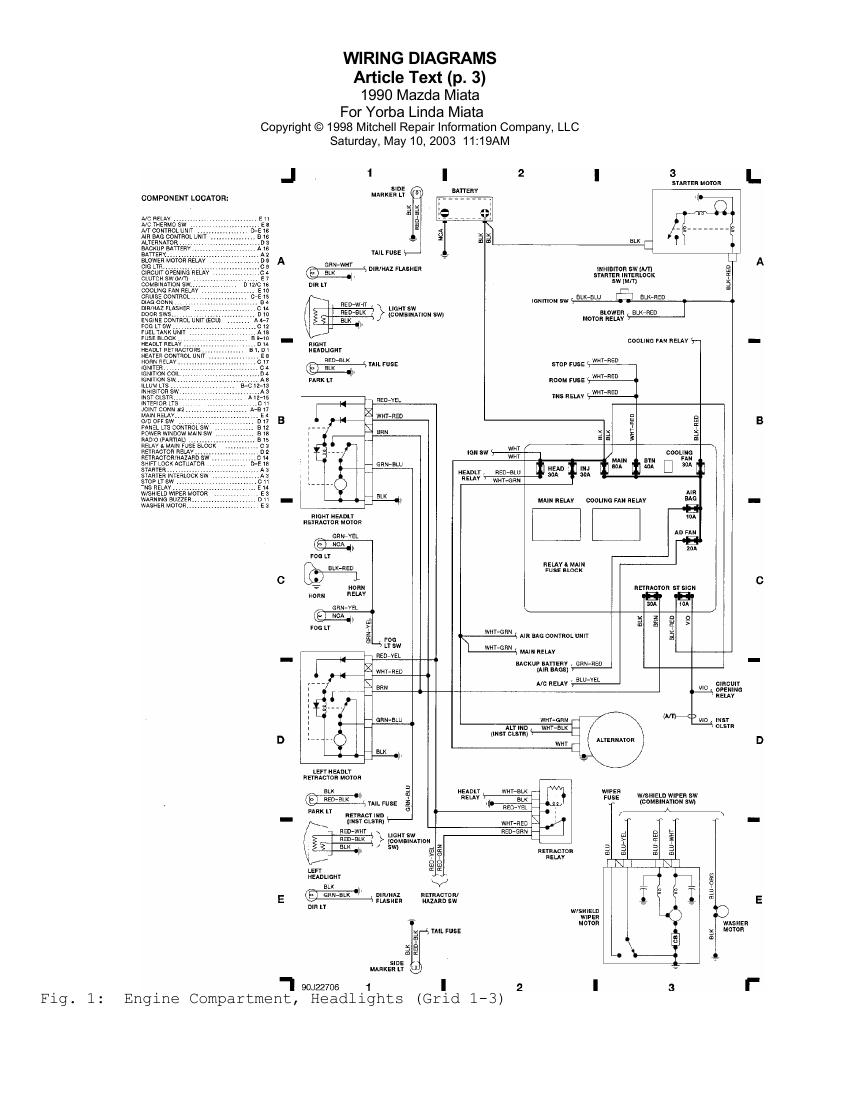 na miata wiring diagram   23 wiring diagram images