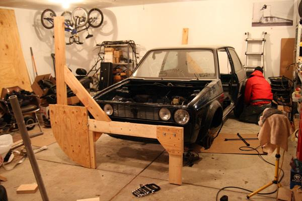 Project Death Kart By Goofydug Volkswagen Golf Builds Diy