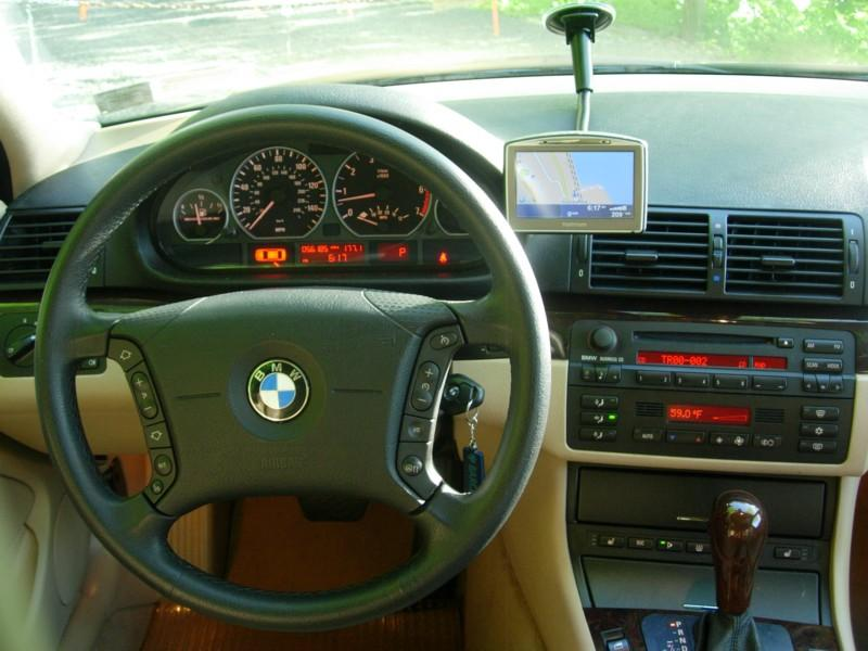 BMW E46 stock dash