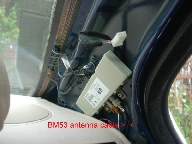 My E46 OEM Navigation 16:9 CD Monitor Complete Retrofit by
