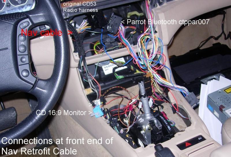 BMW E46 dash removed