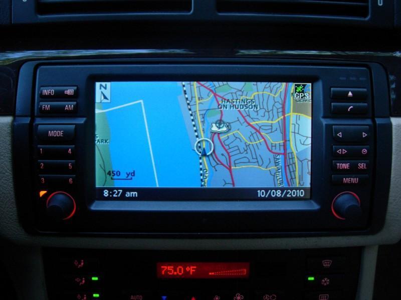 BMW E46 OEM Navigation 16:9 CD Monitor