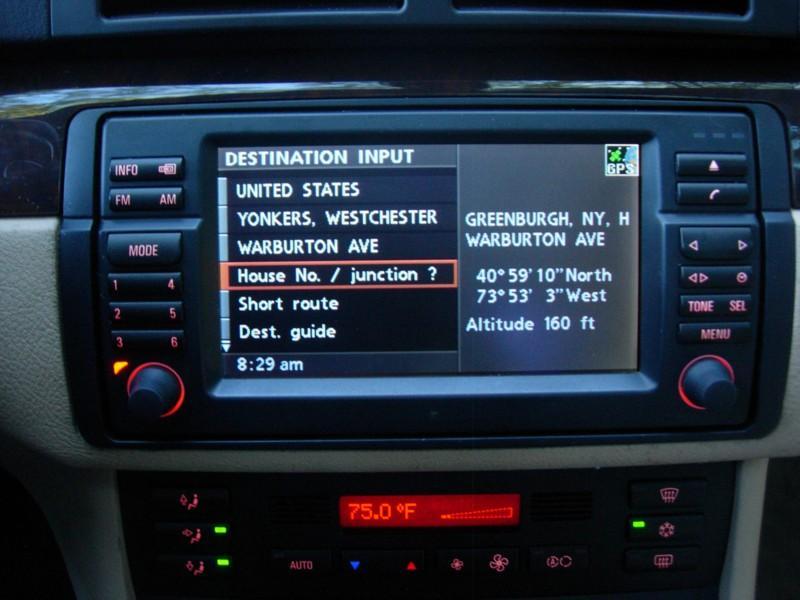 BMW E46 OEM Navigation 16:9 CD Monitor programming