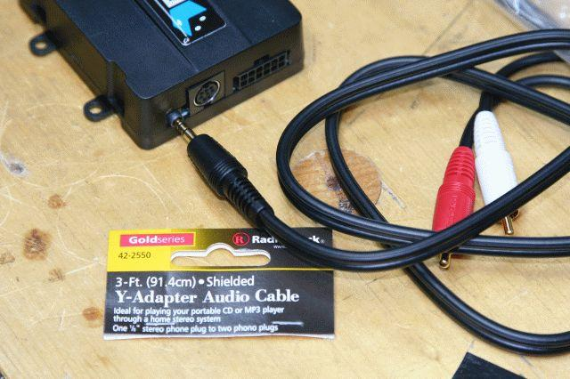 DICE with XM as Aux input DIY for cars with DSP for E39 by