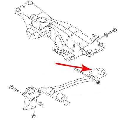 trailing arm rear bushing replacement by jdwhitewrx subaru diys Subaru Crosstrek trailing arm rear bushing replacement by jdwhitewrx home subaru impreza gen2