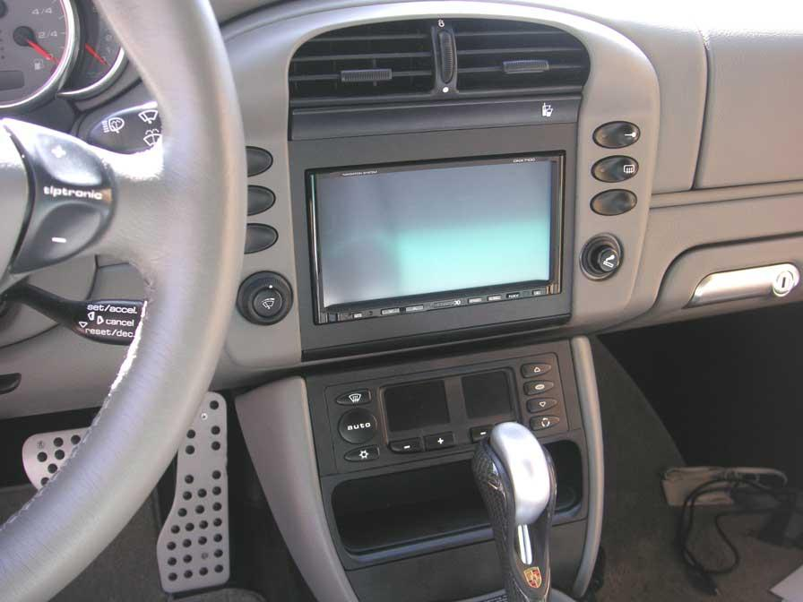 Kenwood DVD/NAV install and AC control mod by p0rsch3 | porsche