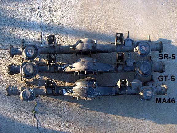 AM46/MA47 Celica-Supra Rear Axle Swap into AE86 by marley4us | diys