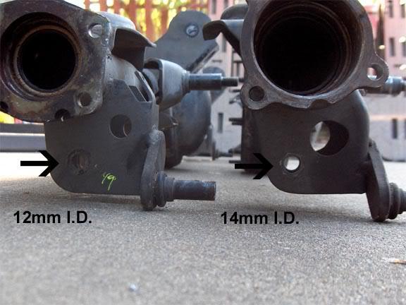 SR5 & MA46/MA47 lower mounts
