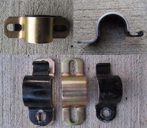 MA46/MA47 (black) sway bar bracket & Energy suspension swaybar bracket
