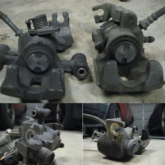 brake calipers for both the AE86 GT-S & MA46/MA47