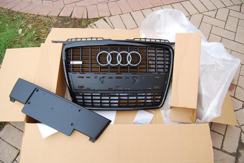 Audi A3 OEM chrome/grey S-Line grille