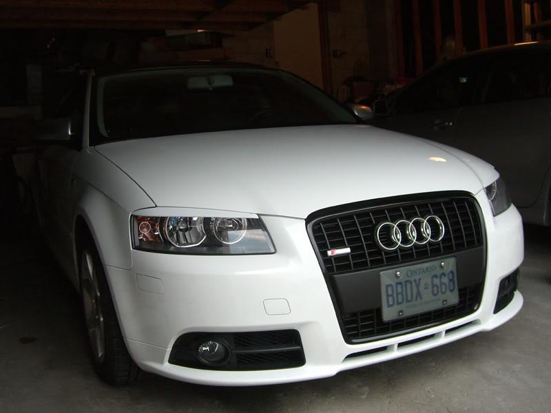 Audi A3 blackout grille