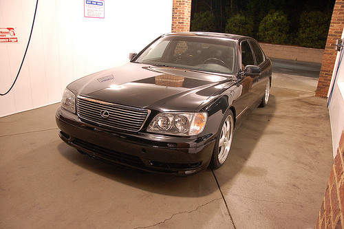 My 04-06 LS430 merged w/ a 98-00 LS400 bumper Project (heavily loaded w/ pix) by romeo291