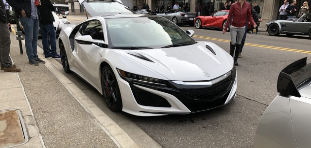 Production numbers of new Acura NSX.