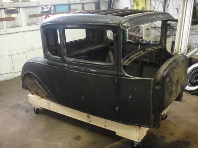 1930 Ford Sheetmetal Restoration by Flop