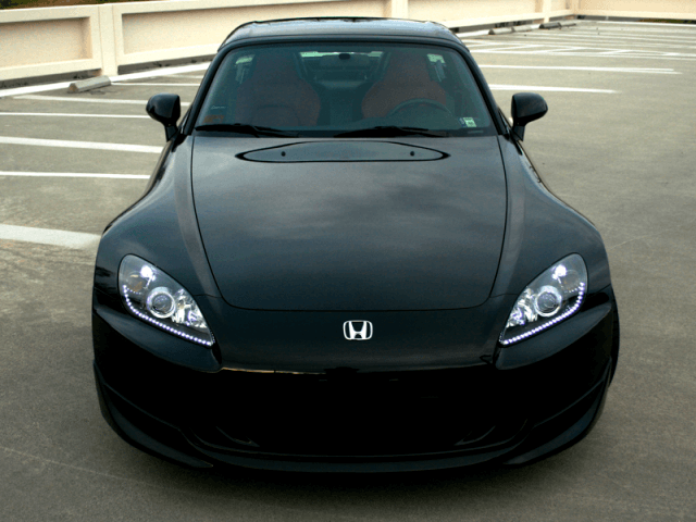 """Custom"" s2000 headlight modifications by EuroBoutique"