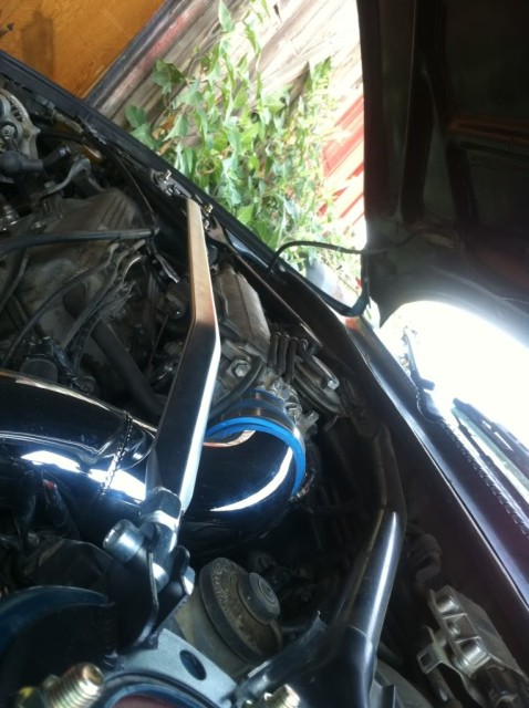Inexpensive Front Strut Brace DIY by cuttyman9