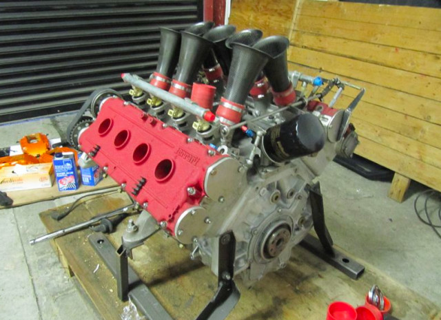 The 348 Le Mans engine is here by angelis