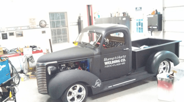 new 1940 chev pickup project by barberboys