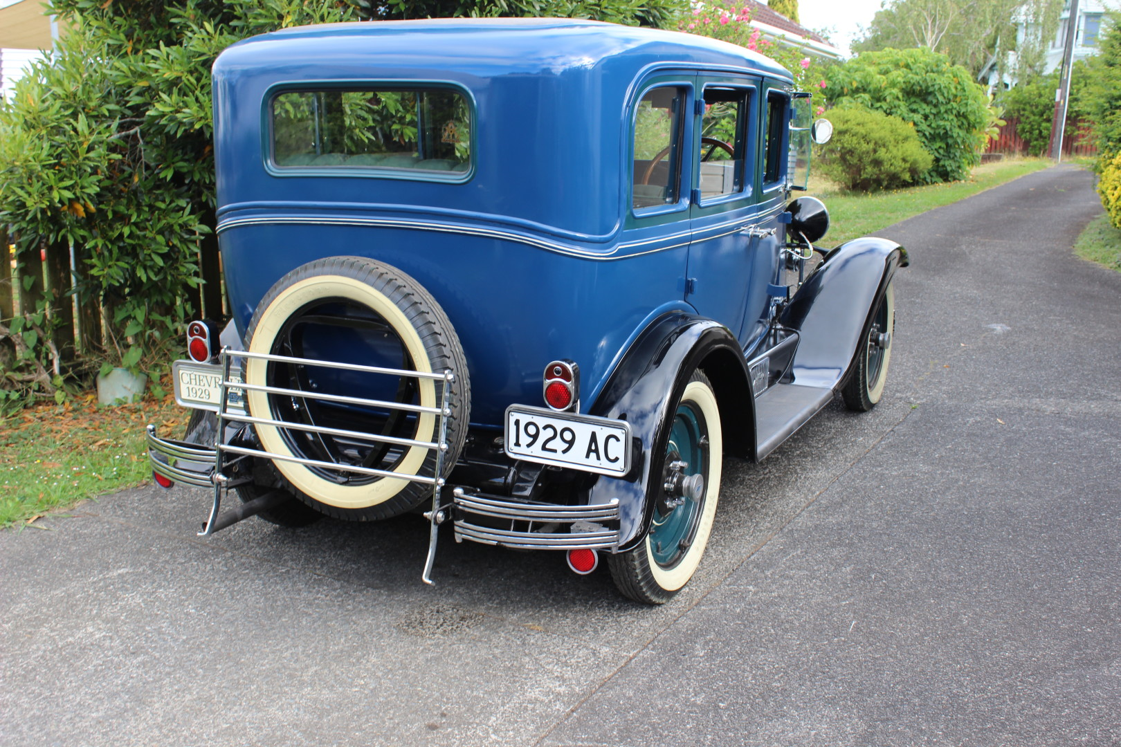 Chevrolet Ac International Custom Auto Builds Gallery Car Wiring Harness My 1929 Sedan Has Been A Complete Restoration Including Wooden Frame Removal And Panelbeating Of Rust Repairs New Full Hampton Coach