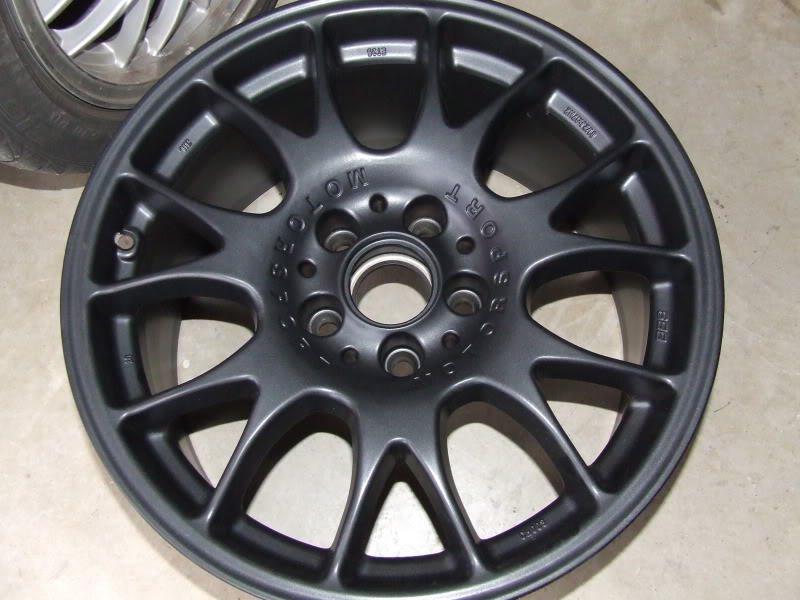 new wheels bbs chu0027s in 17x8 et35 flat black rubber summer dunlop sdrives