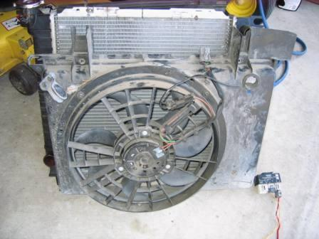 Install Electric Cooling Fan Using Volvo Fan And Relay By