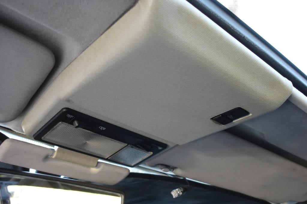 DIY Sunroof Panel tab fix & visor refresh by g60racer | diys | DIY
