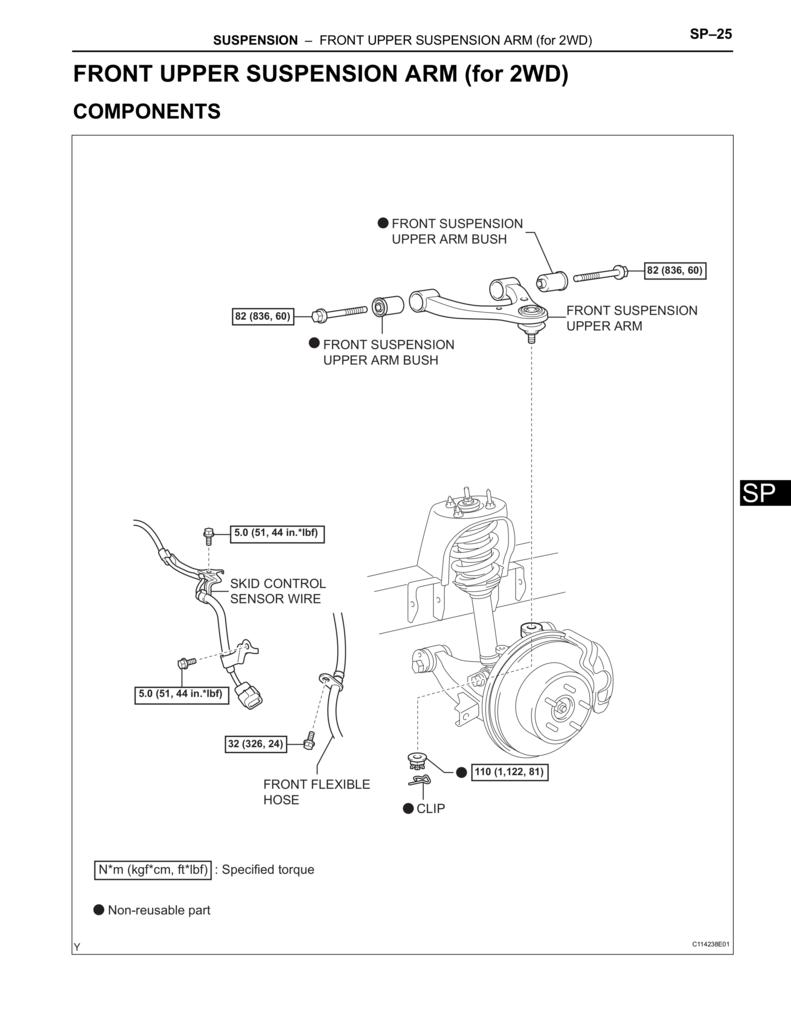 1999 tacoma torque specs