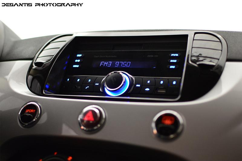 2012 fiat 500 double din radio install by troy audi0. Black Bedroom Furniture Sets. Home Design Ideas