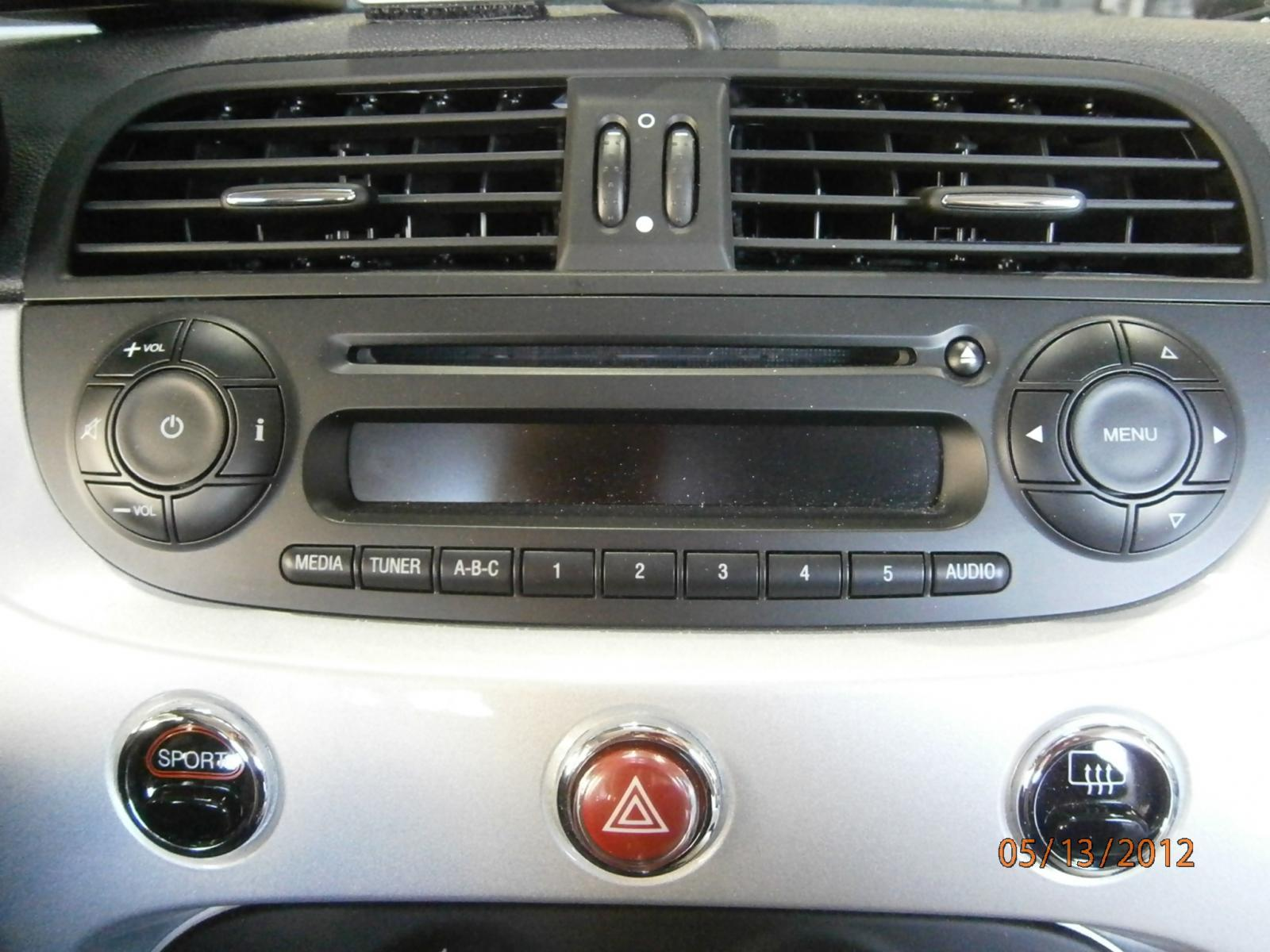 2012 fiat 500 radio removal by troy audi0 fiat 500. Black Bedroom Furniture Sets. Home Design Ideas