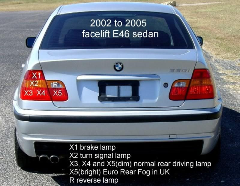 Complete Diy For Updating E46 Tail Lamps Rear Fogs To Euro Facelift