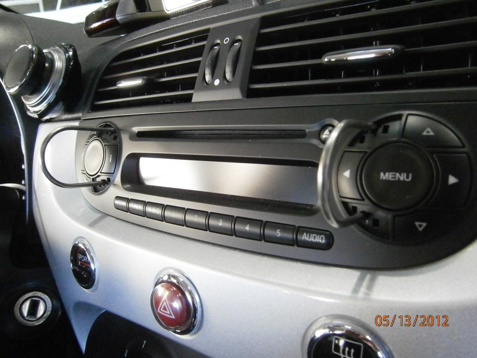 2012 fiat 500 radio removal by troy audi0 fiat 500 diy. Black Bedroom Furniture Sets. Home Design Ideas