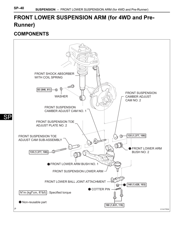 The Torque Spec Guide By Benson X Toyota Tacoma Gen2