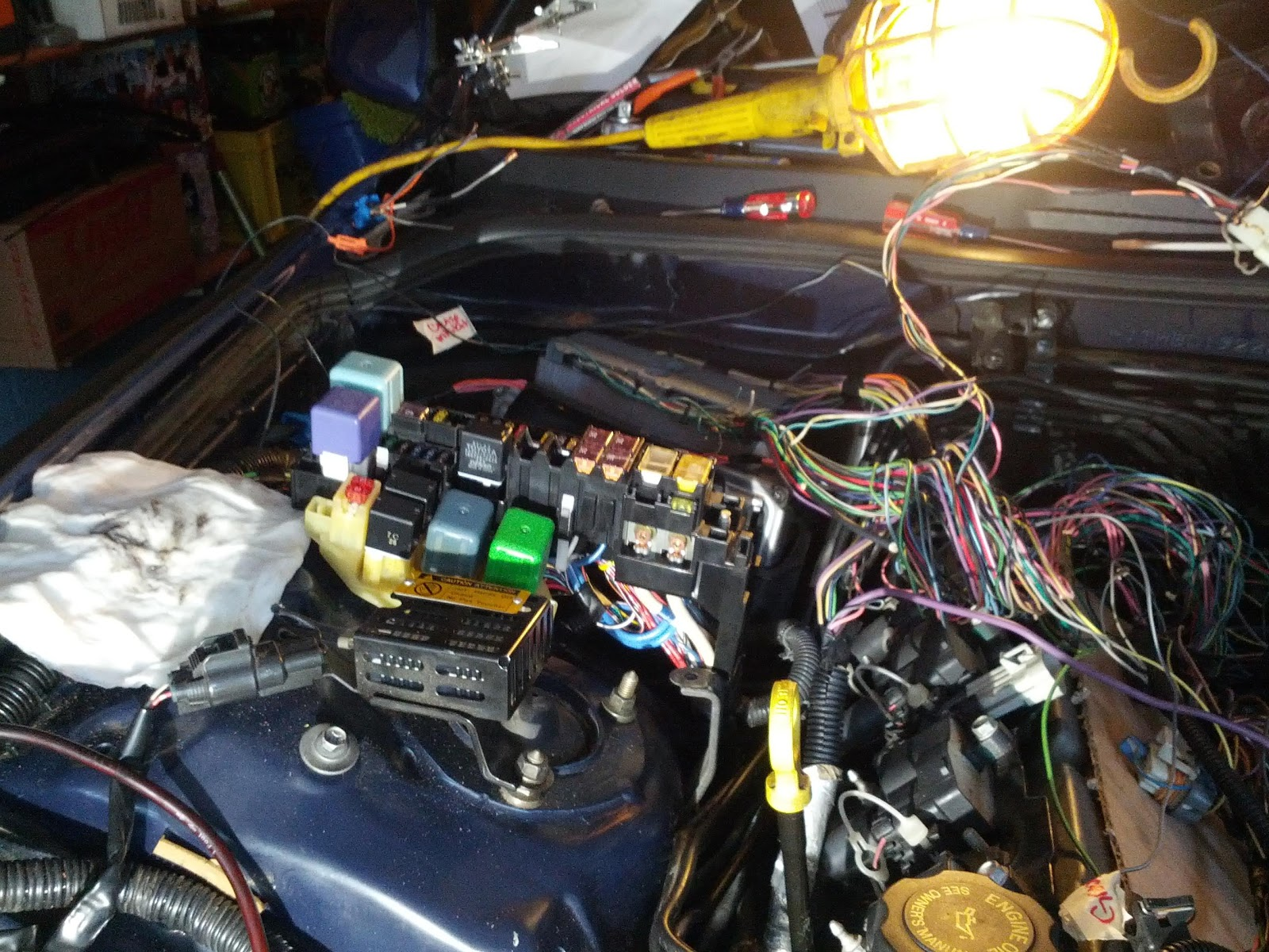 Is300 Ls1 T56 Daily Driver Build By Eng1nerd Lexus Is Xe10 Wiring Harness And Ecu For I Think The Only Things Left To Do Are Hook Up 12v Constant Back Lights Which Have No Ideas How