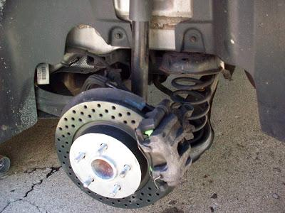 Image on Volvo S40 Rear Caliper