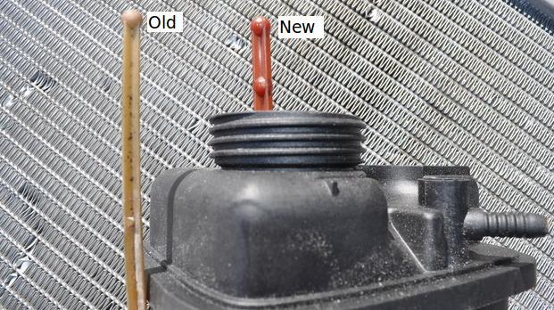 e46 expansion tank replacement
