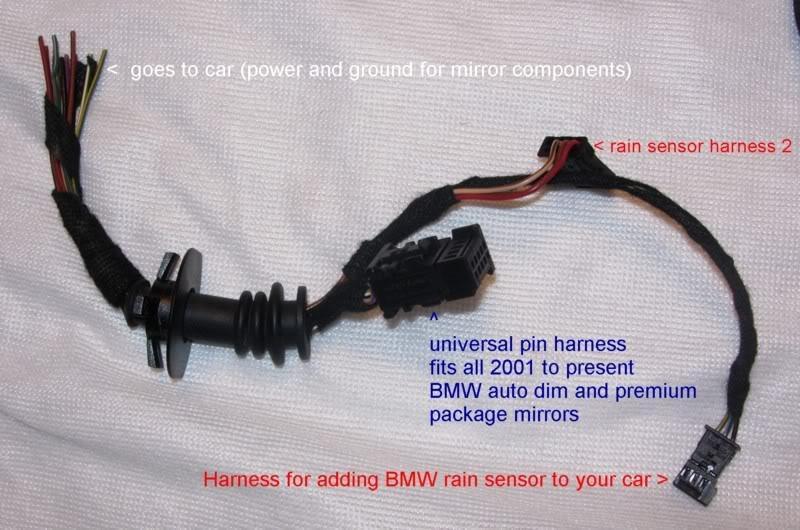 BMW E90 HomeLink/Temp/Compass/Anti Dazzle Mirror Retrofit to