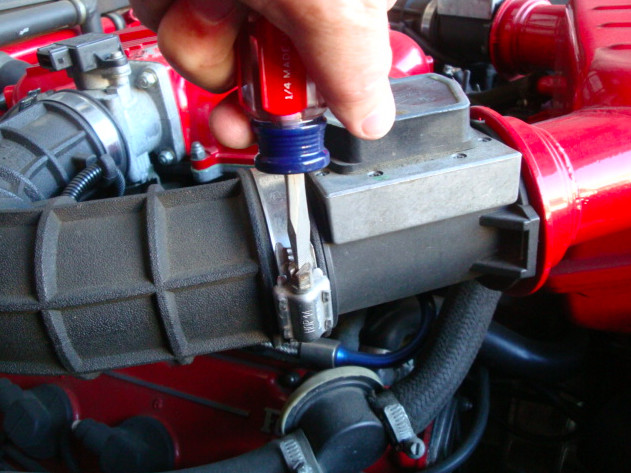 348 throttle body and throttle position sensors removal by