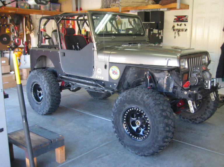 Another Yj Build Genright Style By Caddyman Jeep