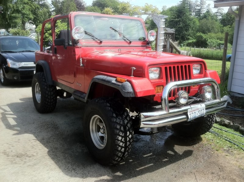 my 93 2 5 low output build by zte87 jeep wrangler yj builds diy 4 Door Jeep JK Lift Kits when i first got my yj it came to me with a busted up 4 inch rc lift wich had broken springs in it a 2 inch bl that was missing a