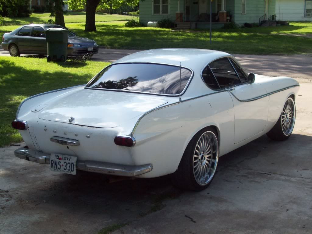 66 volvo p1800 custom build pro touring ls1 v8 body mods and flush mount glass by. Black Bedroom Furniture Sets. Home Design Ideas