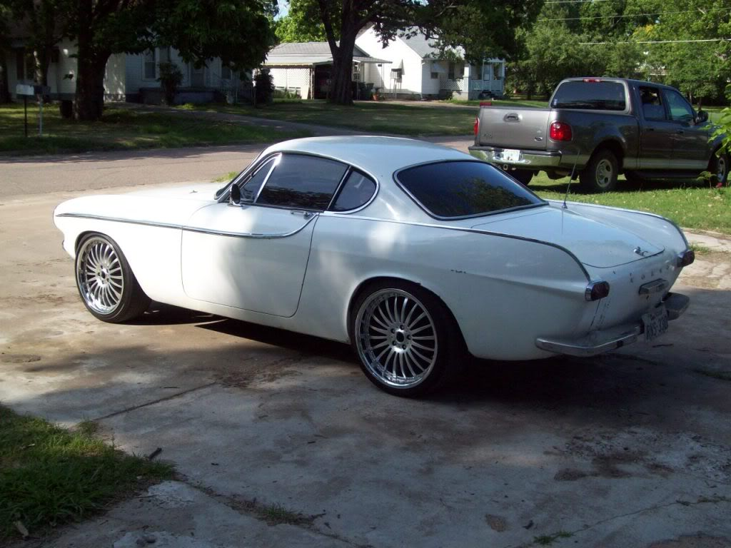 Volvo P1800 For Sale >> 66 Volvo P1800 Custom Build ( Pro-Touring Ls1 V8, Body Mods, and Flush Mount Glass) by ...