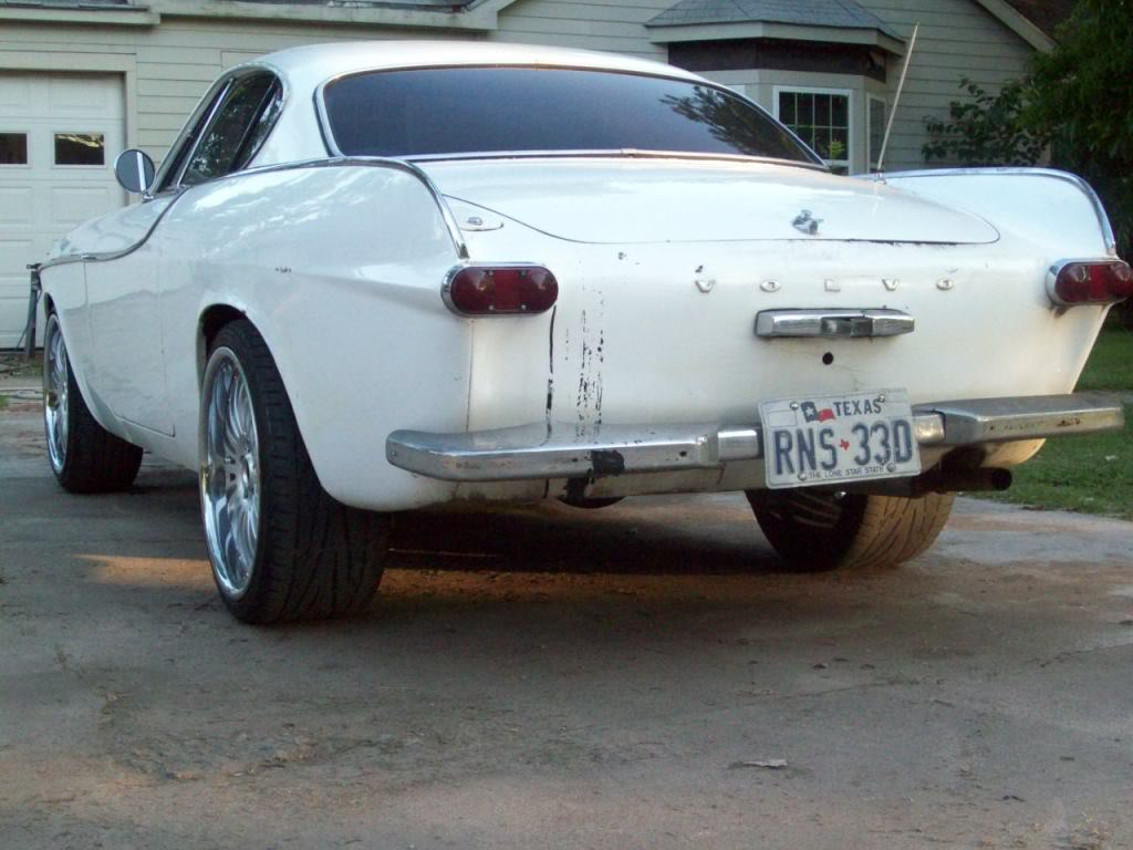Volvo P1800 ride height
