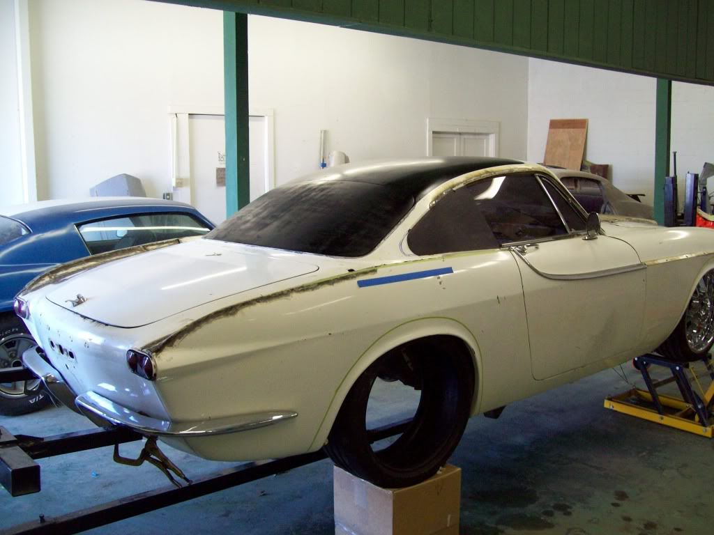 Volvo P1800 customizing