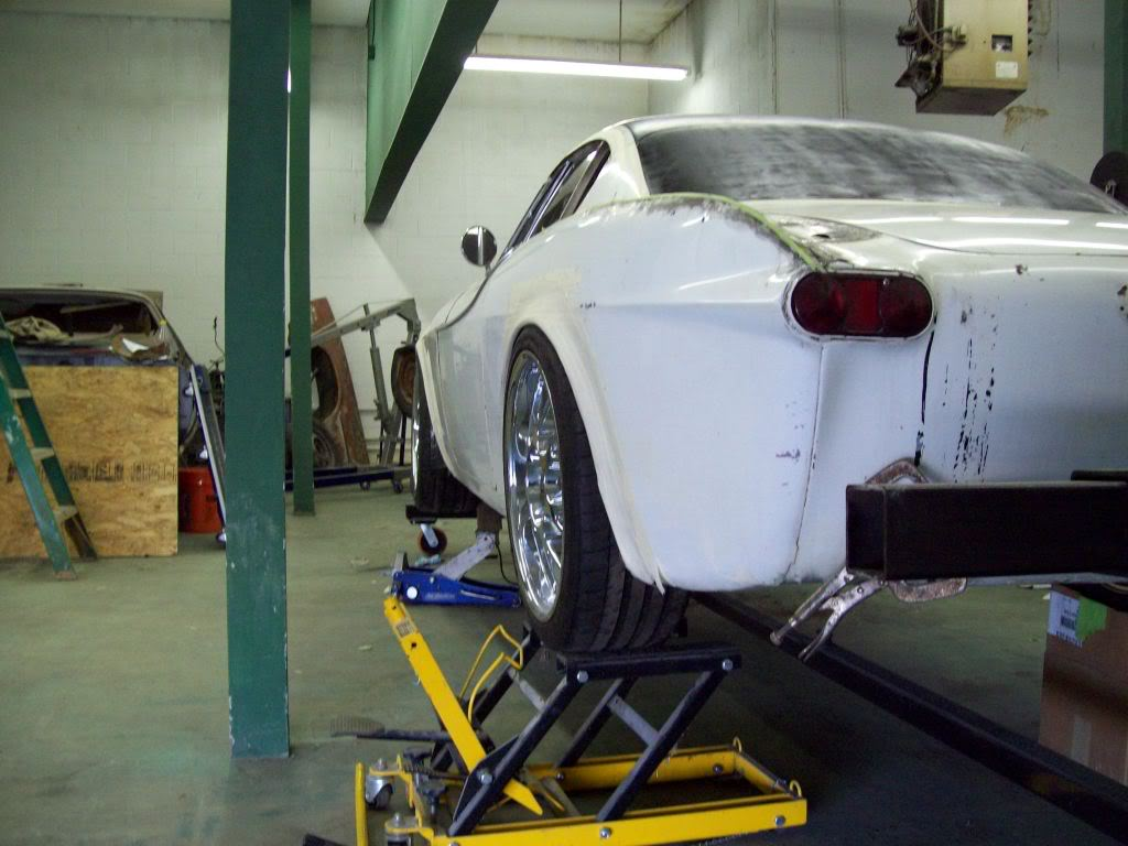Volvo P1800 custom ride height