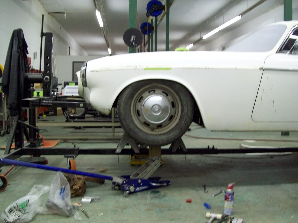 Volvo P1800 setting custom ride height
