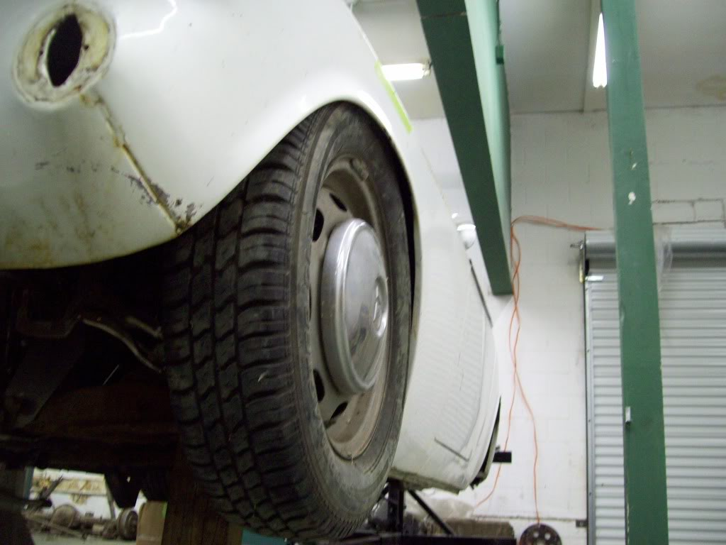 Volvo P1800 custom suspension setup