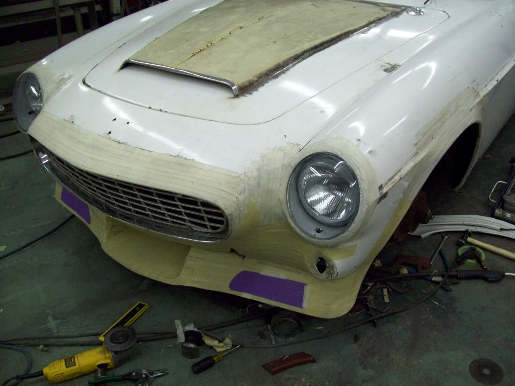 Volvo P1800 custom body work