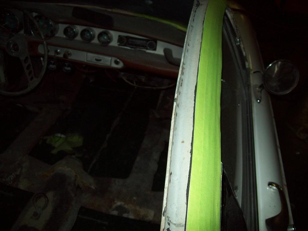 Volvo P1800 roof rails