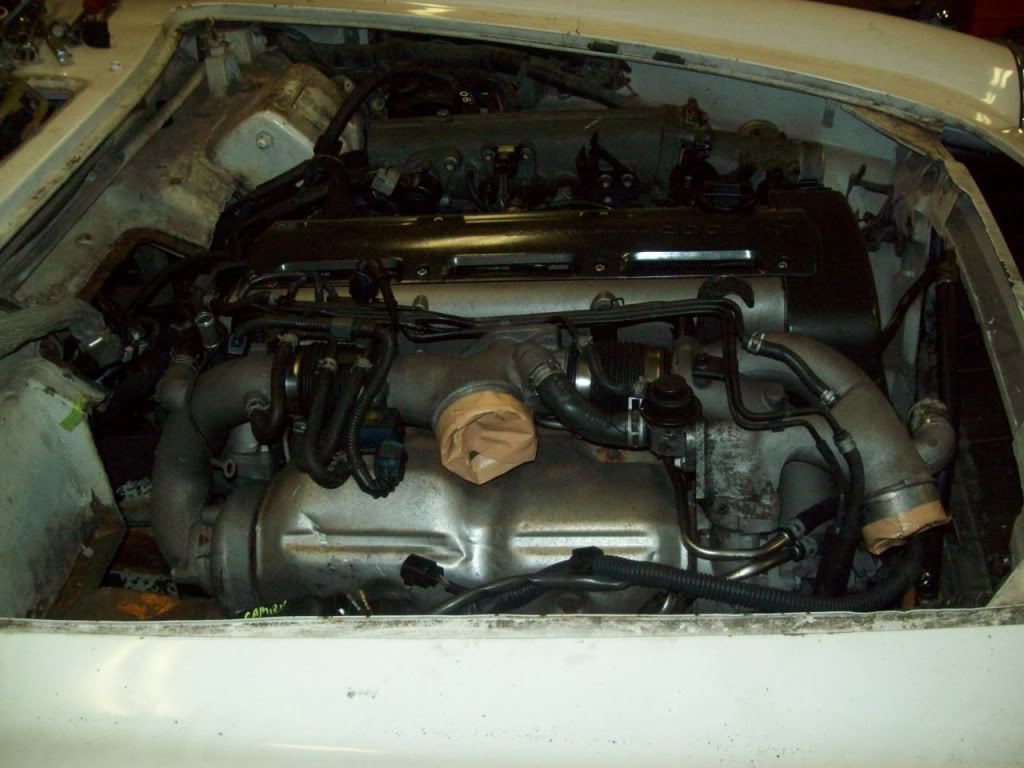 66 Volvo P1800 engine